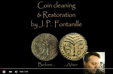 TWO VIDEOS ON COIN RESTORATION