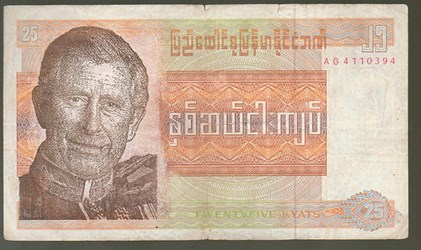 RAINER FUCHS' ALTERED MYANMAR BANKNOTES