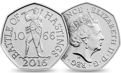 THE ROYAL MINT'S 2016 COIN DESIGNS