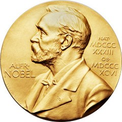 1966 NOBEL MEDAL FOR MEDICINE OFFERED