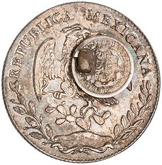 THE MEXICAN-AMERICAN 'DOLLAR,' CIRCA 1877