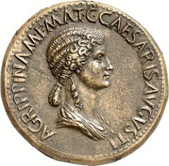 THE SESTERTIUS OF AGRIPPINA SENIOR