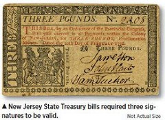 THE 1776 NEW JERSEY STATE TREASURY RAID