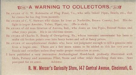 ROBERT WOOD MERCER (1840-1894)