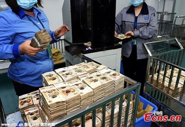 THE CHENGDU, CHINA BANKNOTE PROCESSING CENTER