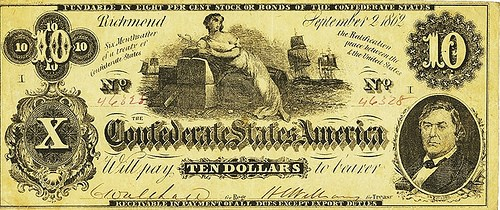 CONFEDERATE BANKNOTE PRINTER HOYER & LUDWIG