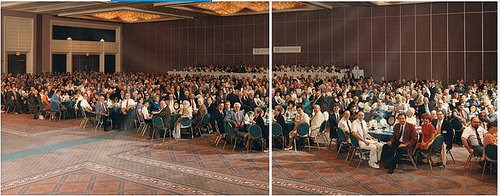 1991 AMERICAN NUMISMATIC ASSOCIATION BANQUET PHOTO