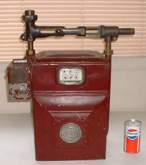 COIN OPERATED GAS METER