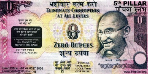 MORE ON COLLECTING ZERO RUPEE NOTES