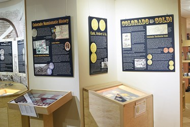 MONEY MUSEUM MOUNTS GOLD RUSH EXHIBIT