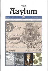 ASYLUM SUMMER 2016 ISSUE PUBLISHED
