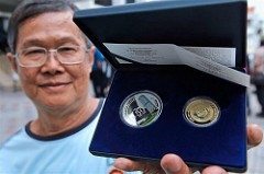 MALAYSIAN COIN COLLECTORS LINE UP AGAIN