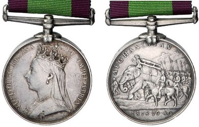THE AFGHANISTAN CAMPAIGN MEDAL
