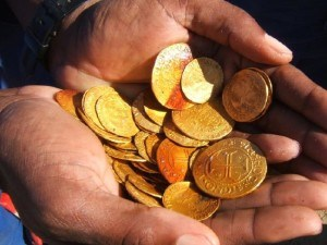 TREASURE SHIPWRECK FOUND OFF NAMIBIA