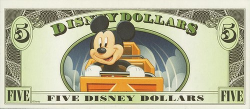 MORE ON THE DISNEY DOLLARS BOOK