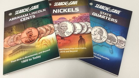 WHITMAN RELEASES NEW SEARCH &SAVE COIN BOOKS