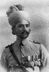 THE FIRST VICTORIA CROSS AWARDED TO A MUSLIM