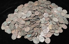 HOARD OF 8,000 ROMAN COINS DECLARED TREASURE