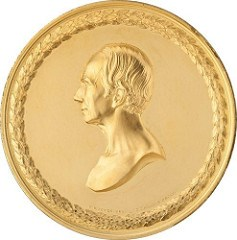 GOLD HENRY CLAY U.S. MINT MEDAL OFFERED