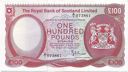 SELECTED SCOTTISH BANKNOTES FROM PAM WEST