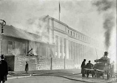 FIRE AT CANADIAN BANK NOTE COMPANY