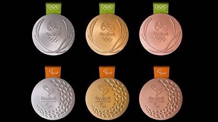 2016 RIO OLYMPICS MEDAL DESIGNS