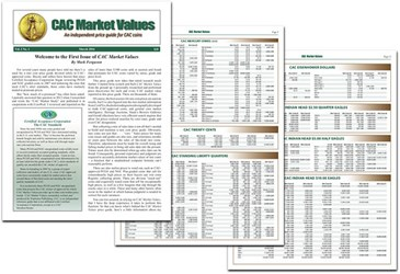 NEW PRICE GUIDE: CAC MARKET VALUES