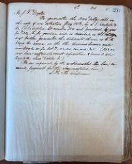 CHAPMAN-WEYL 1804 DOLLAR CORRESPONDENCE