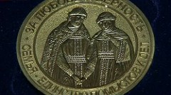 RUSSIAN MEDALS FOR LOVE AND FAITHFULNESS