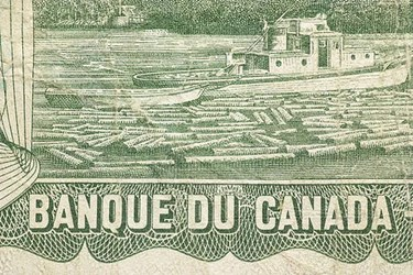 THE BOATMAN ON THE 1969-79 CANADIAN $1 BILL