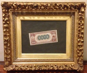 MORE TROMPE L'OEIL BANKNOTE PAINTINGS