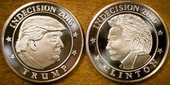 INDECISION 2016: A FLIPPING COIN FROM LONG-STANTON