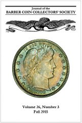 NEWMAN PORTAL DIGITIZES BARBER COIN JOURNAL
