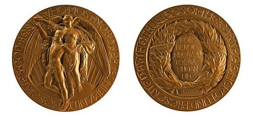 MEDALS OF THE CARNEGIE HERO FUND COMMISSION