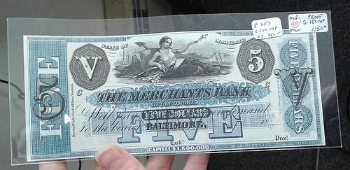 RESEARCHING OBSOLETE MARYLAND BANKNOTES