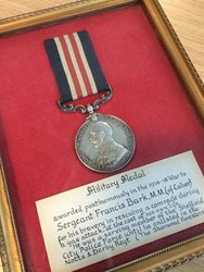 POLICE SOLVE WWI SOLDIER MEDAL MYSTERY