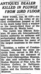 DIKRAN GARABED KELEKIAN (1868-1951)