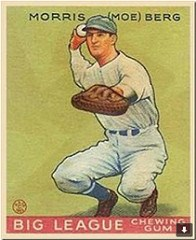 MOE BERG'S PRESIDENTIAL MEDAL OF FREEDOM