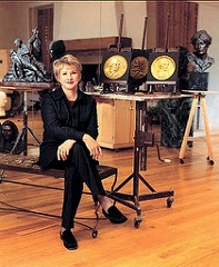 SCULPTOR GLENNA GOODACRE TO RETIRE
