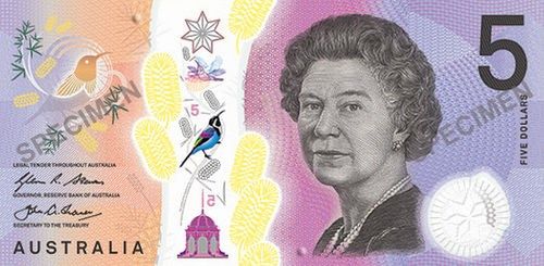 AUSTRALIA LAUNCHES TACTILE BANKNOTE