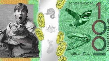 PETITION URGES STEVE IRWIN FOR BANKNOTE HONOR