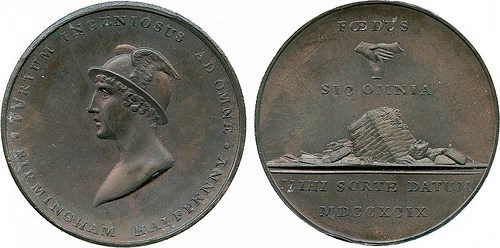 BALDWIN'S AUCTION #102 FEATURES CONDER TOKENS