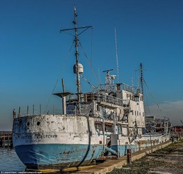 S.S. CENTRAL AMERICA RECOVERY SHIP PHOTOGRAPHED