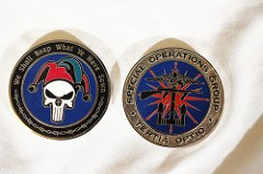 ARTICLE FEATURES CIA CHALLENGE COINS