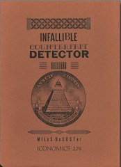 MILES DECOSTER INFALLIBLE COUNTERFEIT DETECTOR