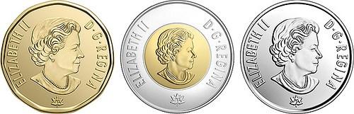 CANADA'S SESQUICENTENNIAL CIRCULATING COINS