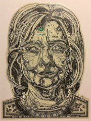 GALLERY SHOWS WAGNER'S CURRENCY PORTRAITS