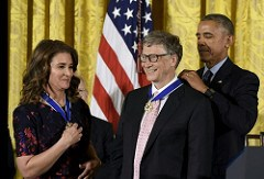 2016 PRESIDENTIAL MEDAL OF FREEDOM CEREMONY