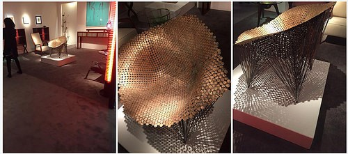 ARTIST JOHNNY SWING'S PENNY CHAIR