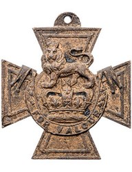 VICTORIA CROSS MEDAL FOUND IN THAMES RIVER